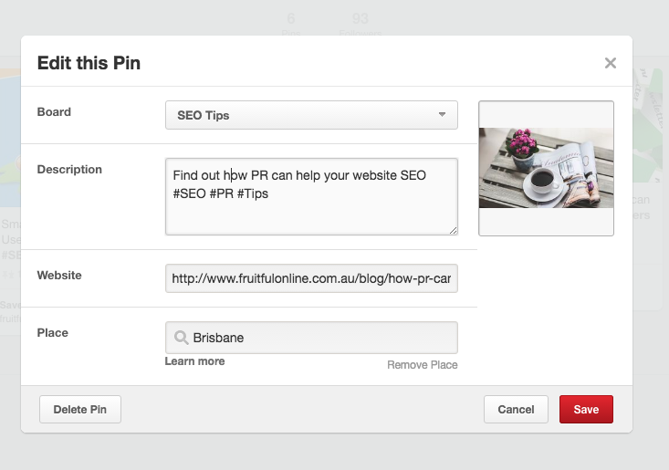 How to use Social Media for SEO Pinterest image