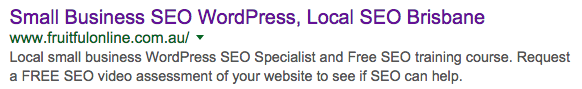 great website SEO title